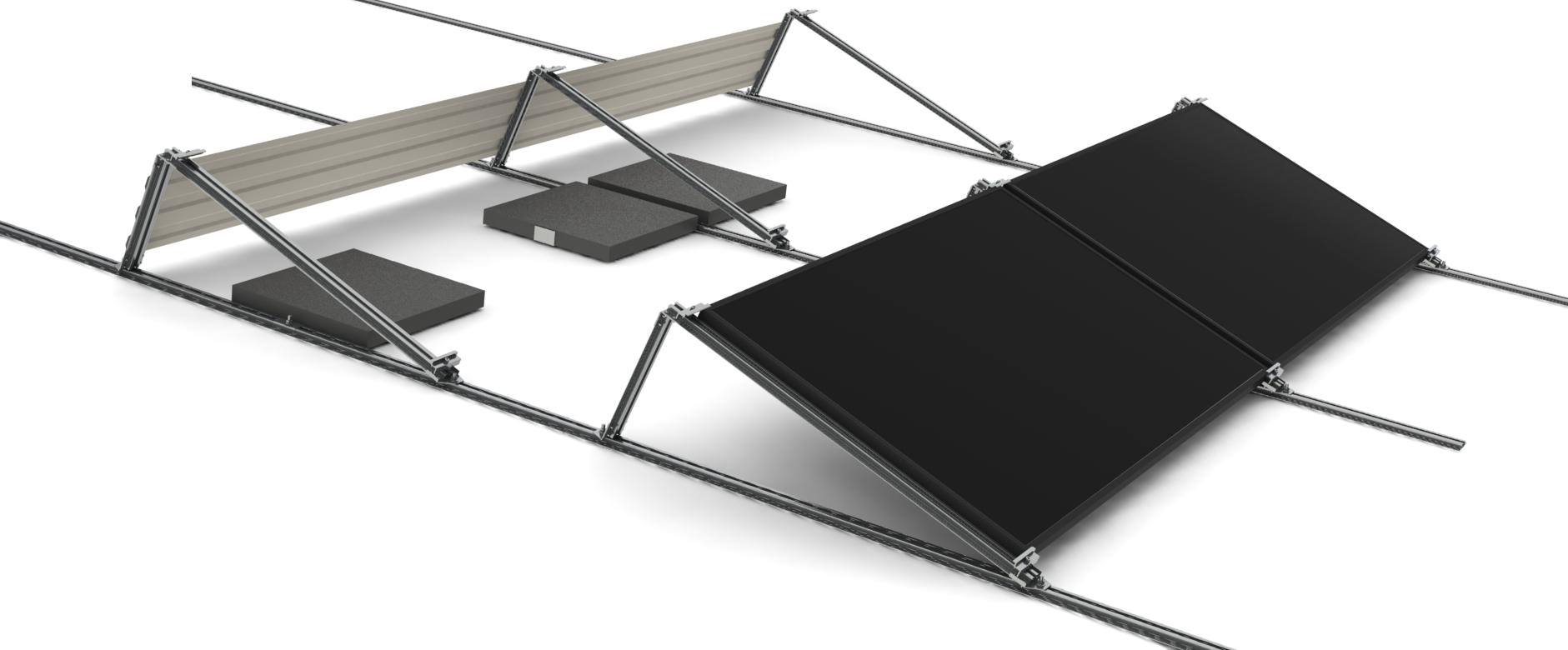Sistema di montaggio per tetti piani l impianto elettrico for Piani domestici di base