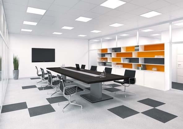 Apparecchi per finestre luminose uniformi l impianto for Finestre a soffitto