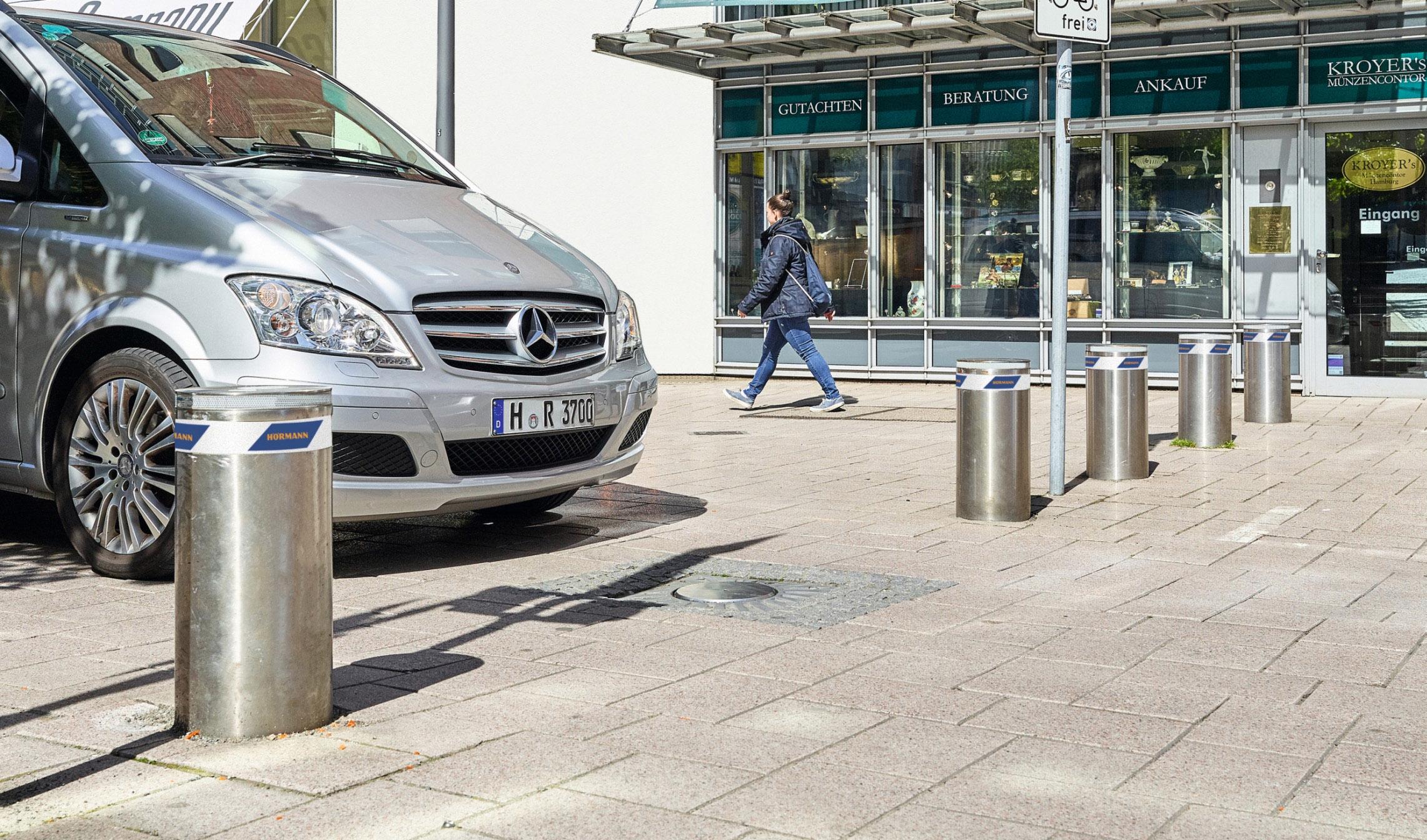 Schemi Elettrici Hormann : Dissuasori per il controllo veicolare degli accessi security line