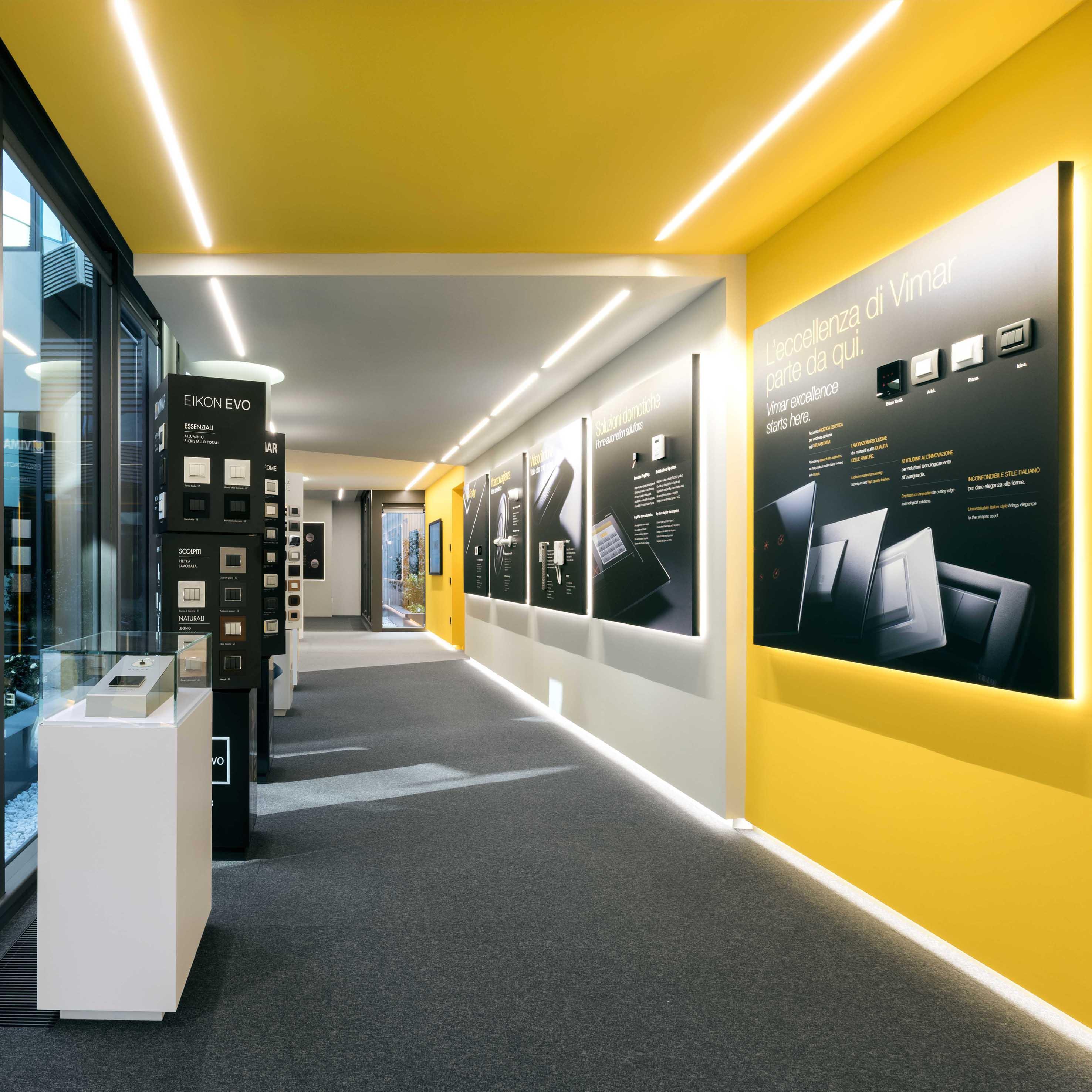 Un Mondo Di Energia Positiva Nel Nuovo Showroom Vimar L Impianto