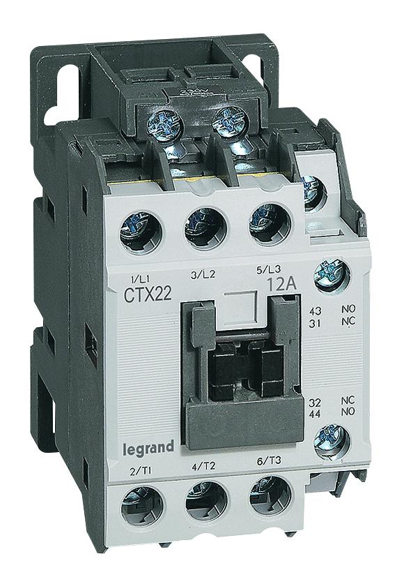 Schema Elettrico Contattore E Salvamotore : Contattori e salvamotori serie mpx e ctx legrand