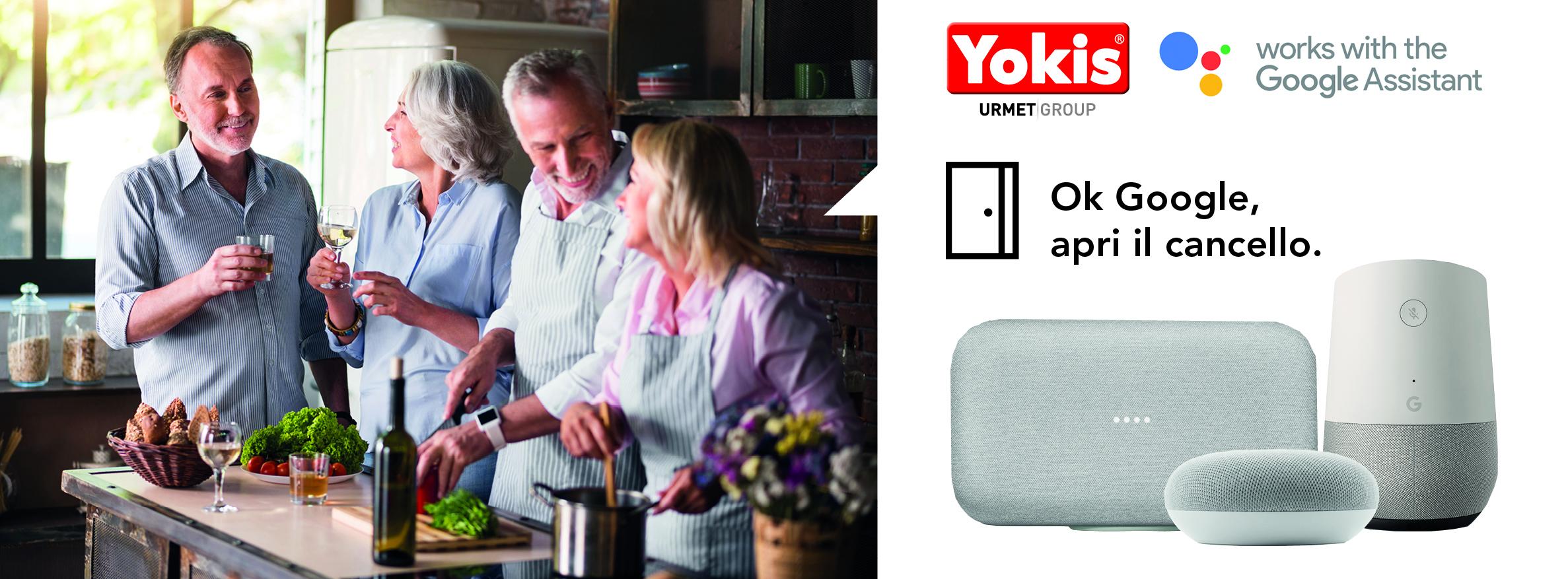Schemi Elettrici Urmet : Assistente vocale urmet più comfort per la casa con yokis e
